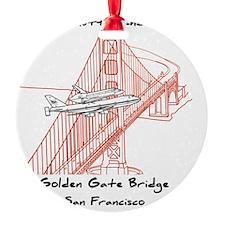 SF_9In12_Endeavour_GoldenGateBridge Ornament