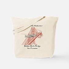 SF_9In12_Endeavour_GoldenGateBridge_RB Tote Bag