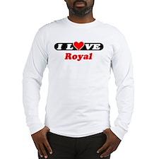 I Love Royal Long Sleeve T-Shirt
