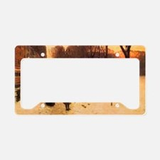 Childe Hassam Boston In Every License Plate Holder