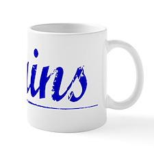 Mains, Blue, Aged Mug
