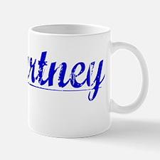 Mccartney, Blue, Aged Mug
