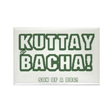 KUTTAY KA BACHA! - URDU - SON OF  Rectangle Magnet