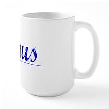 Maus, Blue, Aged Mug