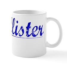 Mcallister, Blue, Aged Small Mug