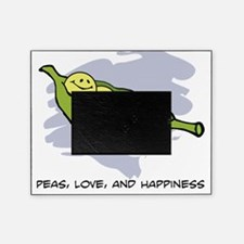 Peas, Love and Happiness Picture Frame