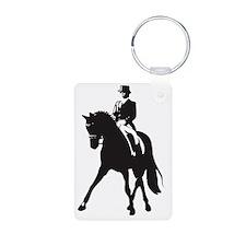 Half pass silhouette Keychains