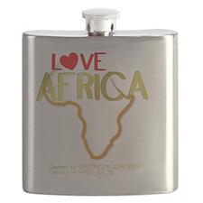 LOVE AFRICA Flask