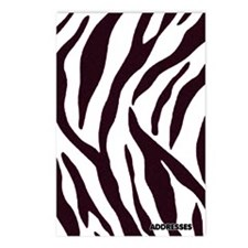 Zebra Address Book Postcards (Package of 8)