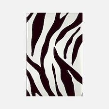 Zebra Address Book Rectangle Magnet