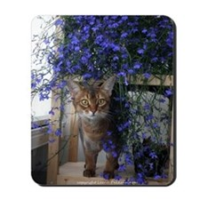 Flower Cat Mousepad