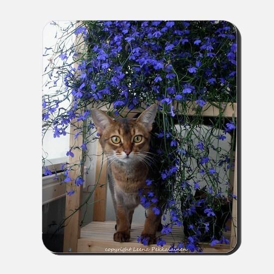 Flower Cat Mousepad