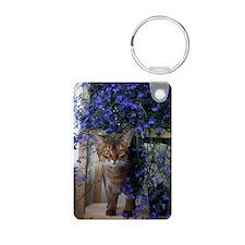Flower Cat Keychains