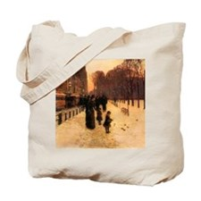 Childe Hassam Boston In Everyday Twilight Tote Bag
