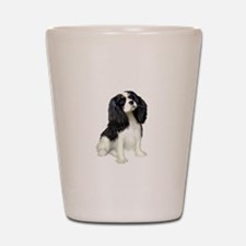 Cavalier (tri color) Shot Glass