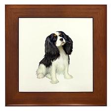 Cavalier (tri color) Framed Tile