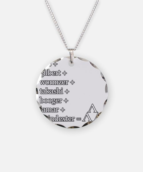 THE TRI-LAMS TRIBUTE Necklace