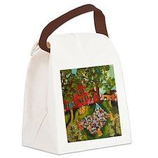 Quilt toss Canvas Lunch Bag
