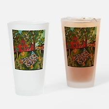 Quilt toss Drinking Glass