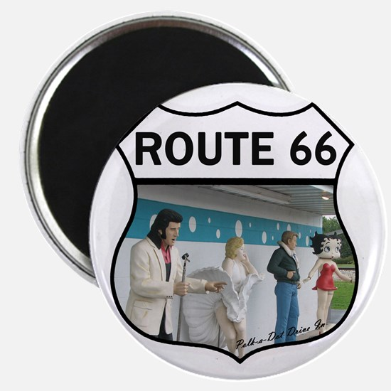 Route 66 - Polk-a-Dot Drive In Magnet