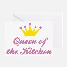 Queen of the Kitchen Greeting Card
