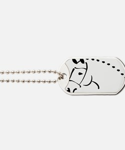 horse Dog Tags