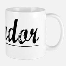 Amador, Vintage Mug