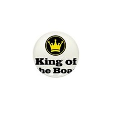 King of the Boat Mini Button