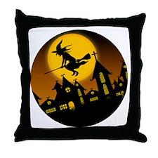 Spooky Halloween 2 Throw Pillow