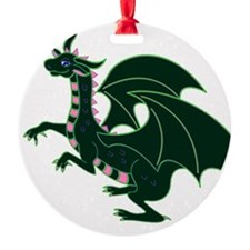 Green Dragon Ornament
