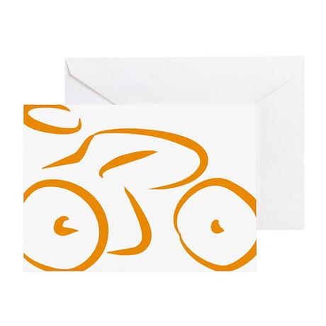 bike logo Greeting Card