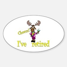 Cheers!:-) Oval Decal