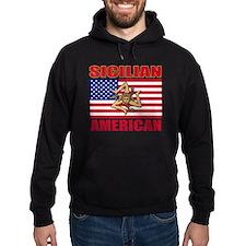 sicilian american a Hoody