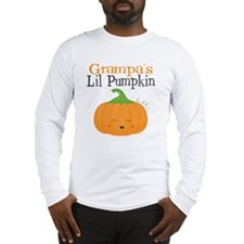 Grampas Little Pumpkin Long Sleeve T-Shirt