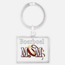 Boerboel Mom Landscape Keychain