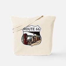 Route 66 Motors Tote Bag