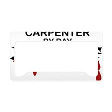 Carpenter Zombie License Plate Holder