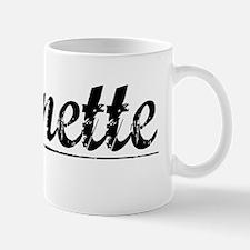 Bonnette, Vintage Mug