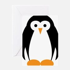 Cute Penguin Illustration Greeting Cards