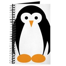 Cute Penguin Illustration Journal