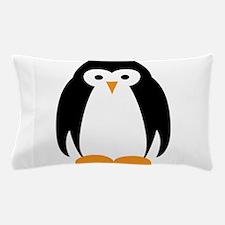 Cute Penguin Illustration Pillow Case