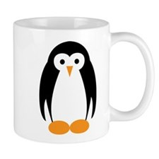 Cute Penguin Illustration Mugs