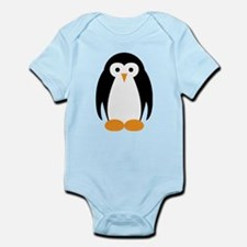 Cute Penguin Illustration Body Suit