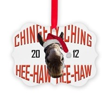 Dominick The Donkey's official 20 Picture Ornament