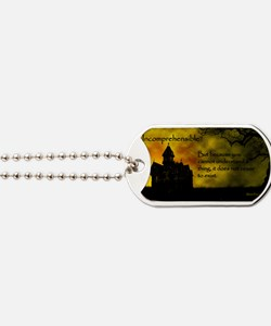 Incomprehensible - scattered Dog Tags