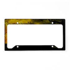 Incomprehensible - scattered License Plate Holder