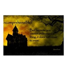 Incomprehensible - scatte Postcards (Package of 8)