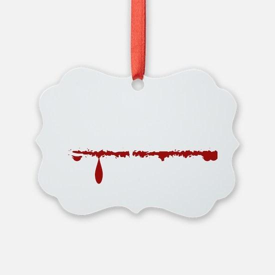 Chiropractor Zombie Ornament