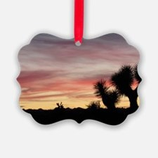 Joshua Tree Silhouette Ornament