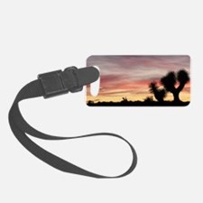 Joshua Tree Silhouette Luggage Tag
